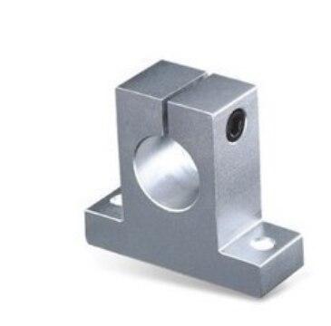 (2)SK-20 20mm Bearing CNC Aluminum Rail Linear Motion Shaft Support Series Slide