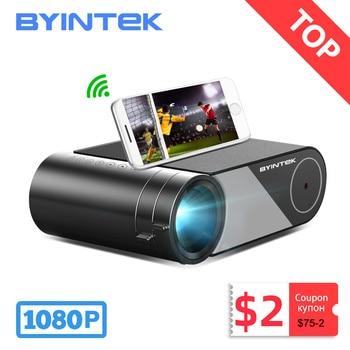 BYINTEK-Proyector de vídeo LED K9 Mini 1280x720P para cine en 4K, 1080P, pantalla múltiple opcional para Iphone