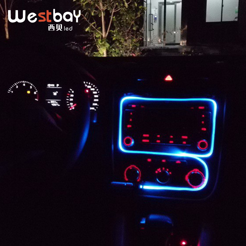 Westbay Led Light Source DC12V Mini Fiber Optic Light LED Light Engine For Car Interior Decoration Light Decoration