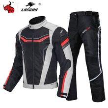 Мотоциклетная куртка lyschy Мужская мотоциклетная брюки костюм