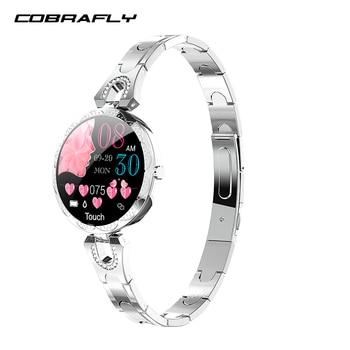 COBRAFLY AK15 smart watch bracelet women blood pressure waterproof health wristband fitness tracker watch smart health bracelet 1