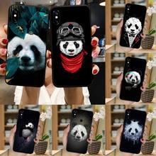 الباندا لطيف الكرتون نمط عالية الجودة قضية الهاتف غطاء ل شاومي Redmi نوت 7 8 9 t k30 max3 9 s 10 برو لايت