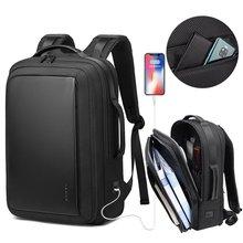 Мужской рюкзак для путешествий,, модный, деловой стиль, usb зарядка, водонепроницаемый, высокое качество, чистый цвет, легкий рюкзак