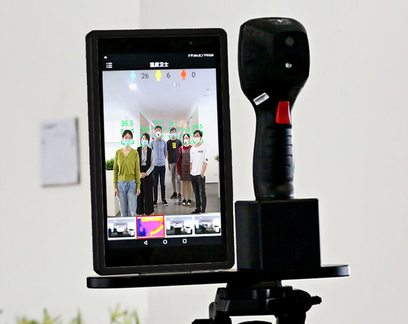 Infrared Thermal Camera With Live Streaming to Computer or TV Bluetooth For Human Body 27