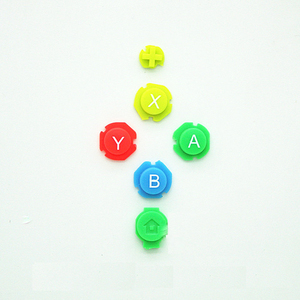 Image 2 - Kleurrijke Abxy Richtingen Keys Knoppen Joystick Voor Nintendo Switch Ns Nx Controller Joy Con Links Rechts Controller