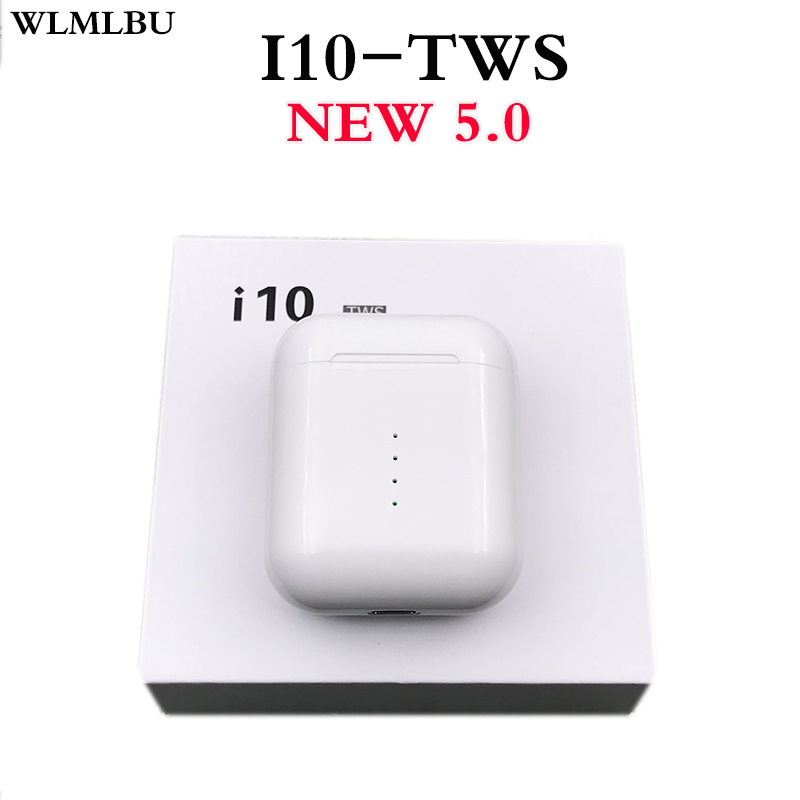 Original New Handsfree Wireless Headphones I10 Tws I9s TWS Bluetooth Earphone 5.0 True Wireless Earbuds For Android IPhone