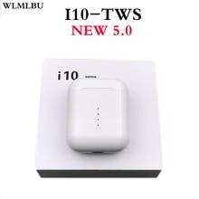 Original New Handsfree wireless Headphones i10 tws i9s TWS Bluetooth Earphone 5.0 True Wireless