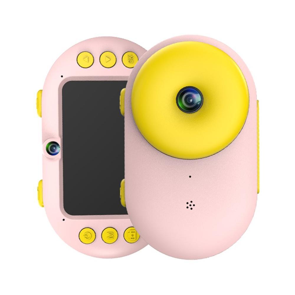 Enfants enfants appareil photo numérique caméscope étanche double lentille enregistreur vidéo cadeau