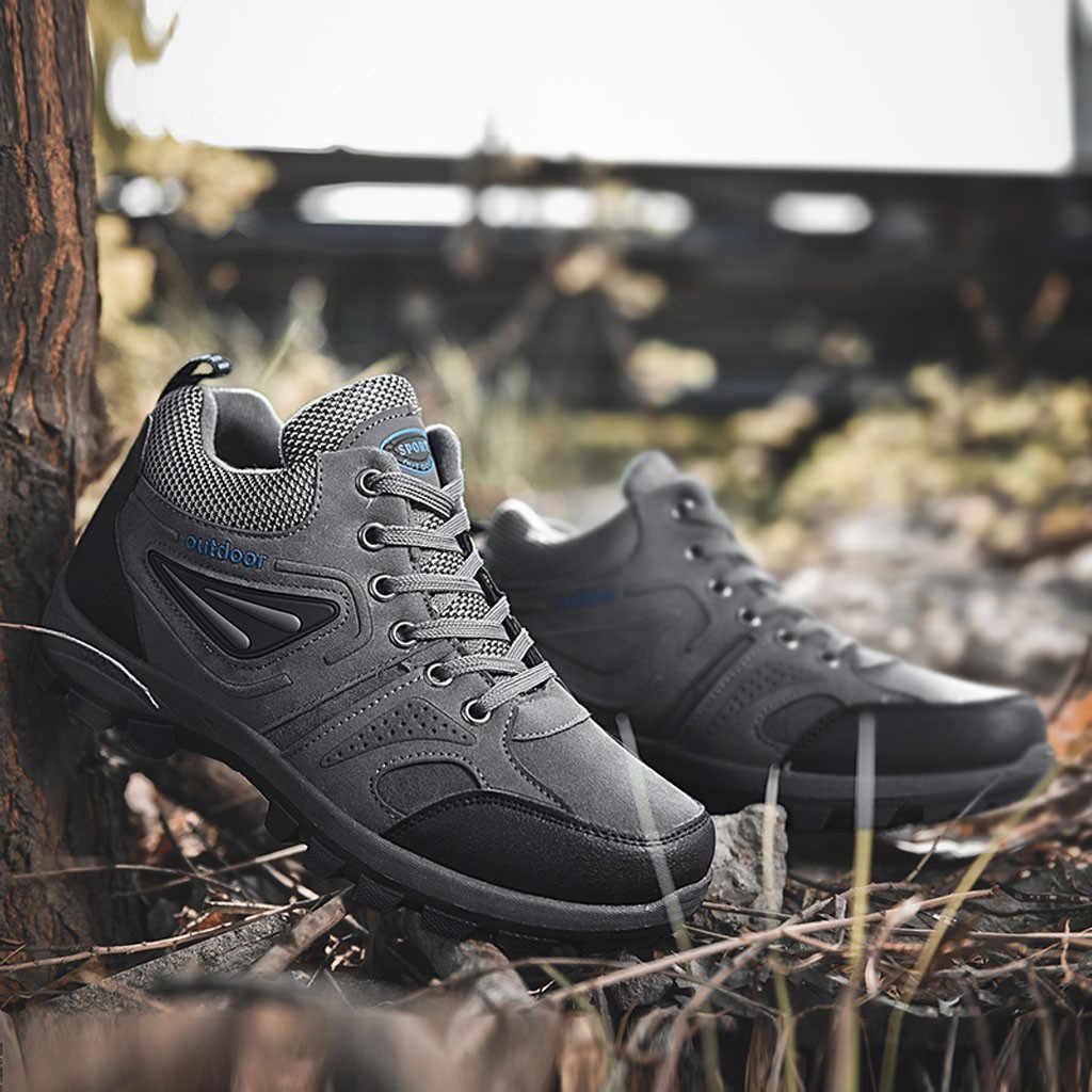 Moda de invierno para hombre vulcanizan los zapatos de fondo plano tejido volador transpirable antideslizante resistente al desgaste Zapatillas tenis masculino