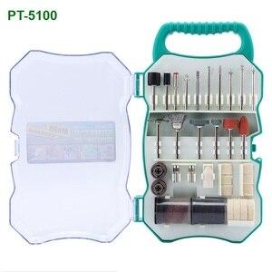 Image 5 - ProsKit PT 5205U 3.7V USB 충전 전기 그라인더 세트 리튬 이온 미니 드릴 스크루 드라이버 전기 드릴 조각사 연 삭
