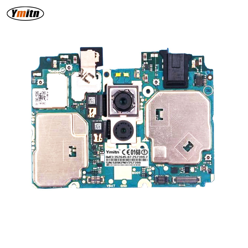 Ymitn Mobile Electronic Panel Mainboard Motherboard Unlocked With Chips Circuits Flex Cable For Meizu X8