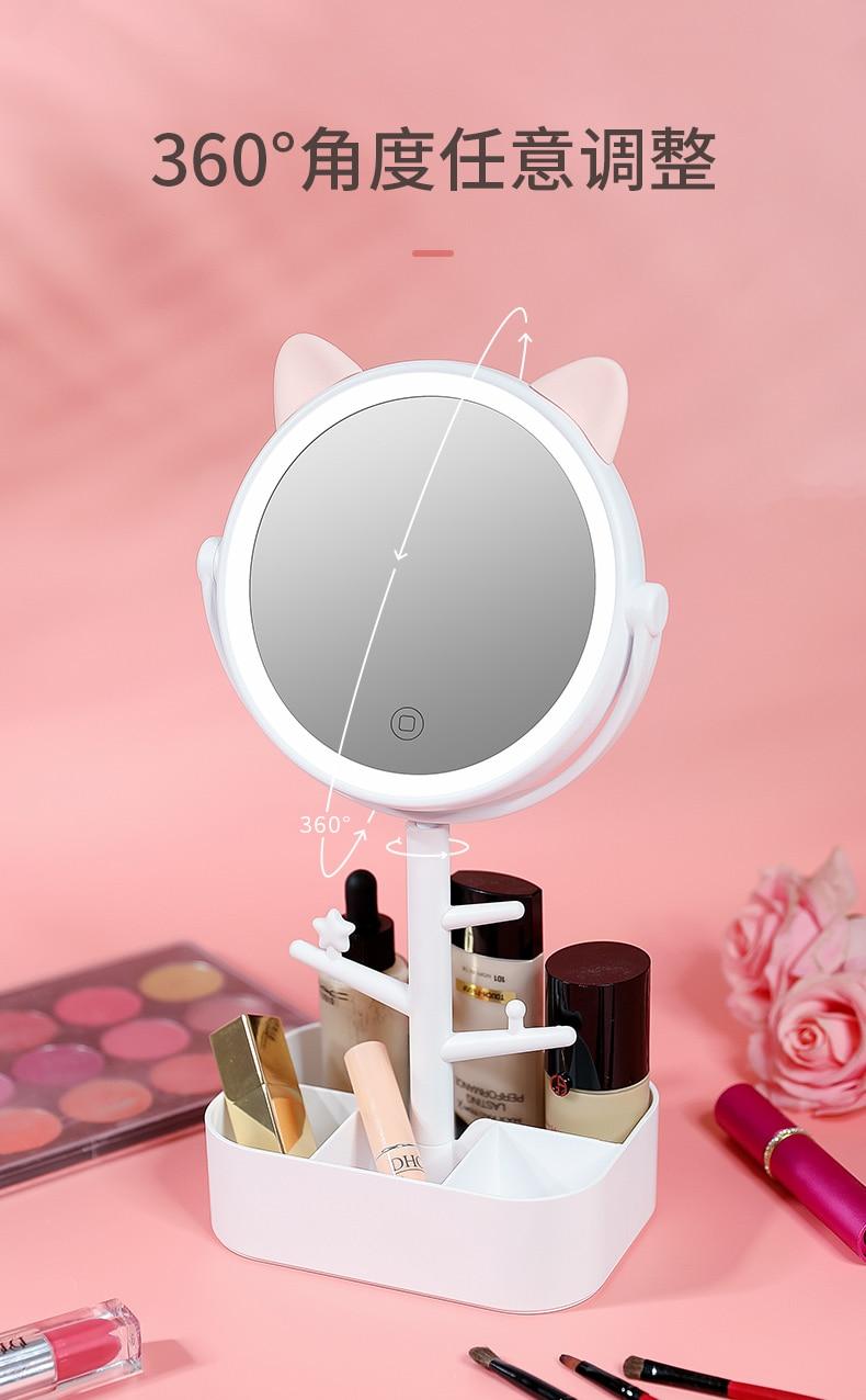 do dia desktop vestir beleza maquiagem caixa de armazenamento decoração