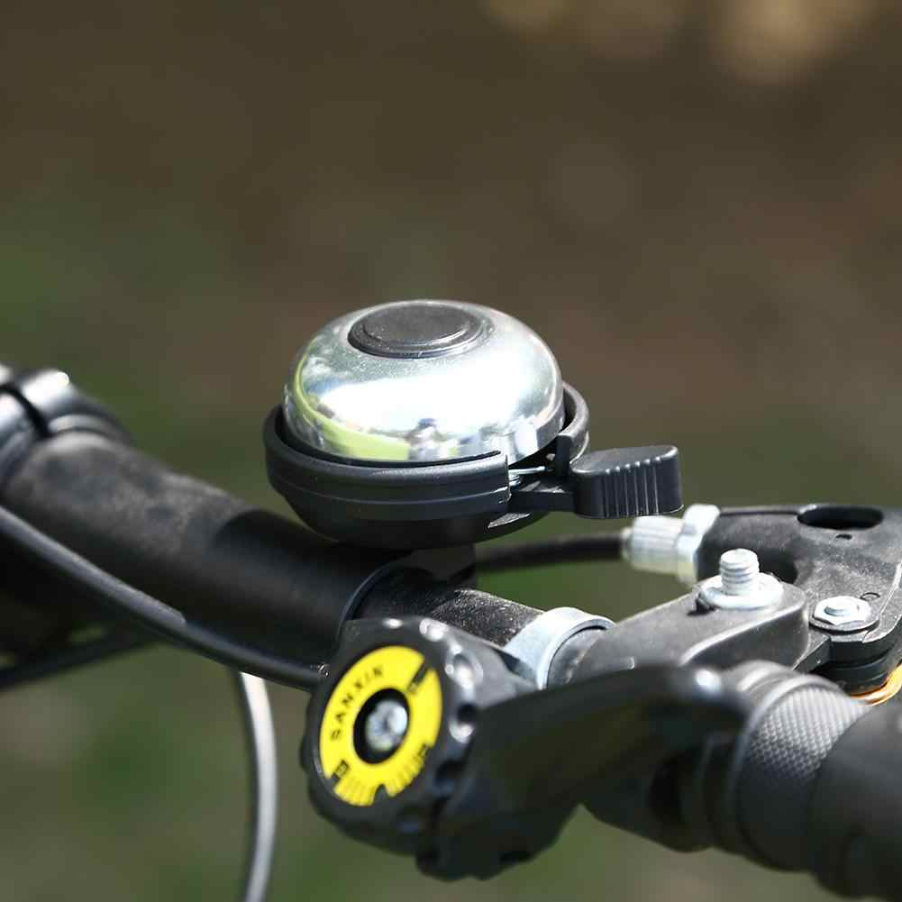 Bicycle Bell Handlebar Ring Horn Sound Alarm MTB Mountain Road Metal Bike Warning Safety Bike Cycling Accessories 2 Colors