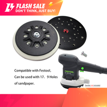 6 Inch 150mm Multi Hole Dust Free Soft/Hard Sanding Pad Sander Backing Plate for Polishing Grinding (Pack of 1)