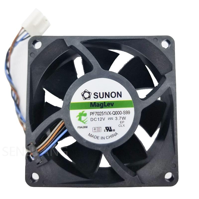 for Y.S.TECH YW07025012BM 7CM 7025 12V 0.17A 3-Wire Cooling Fan
