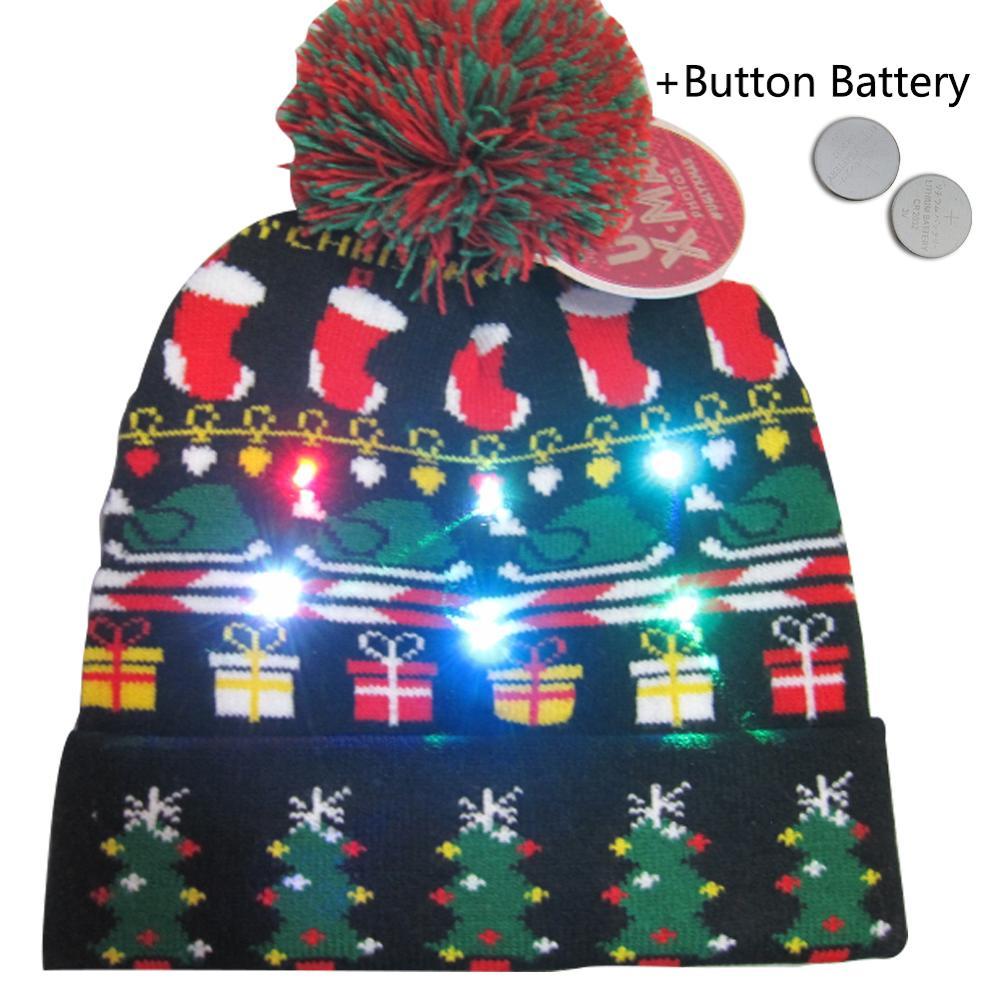 Christmas LED Beanies 1