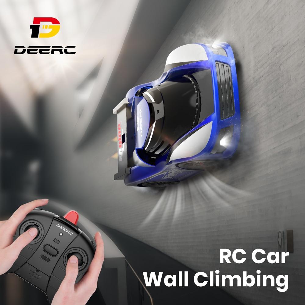 Deerc DE31 Радиоуправляемый автомобиль дрейф гоночный светодиодный светильник настенный стеклянный альпинистский пульт дистанционного управ...