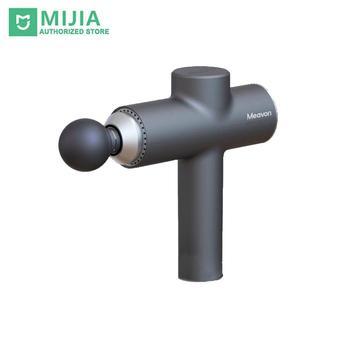 2020 New Xiaomi mi Meavon 3200r/min Body Massager Electric Smart Double Mode Fascia Gun Silicone Head Deep Massage For Home Gym