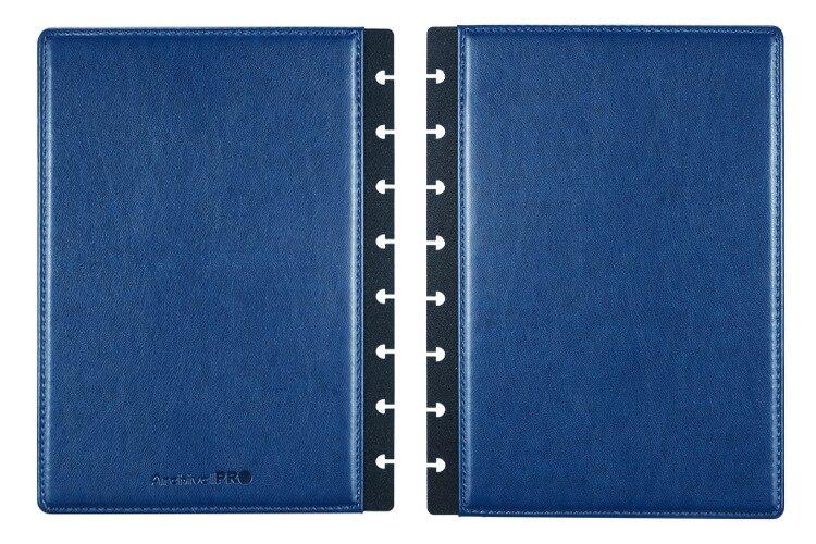 Bloco De Notas de Couro Notebook Shell