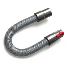 купить 1 Replacement Vacuum Cleaner Pu Telescopic Flexible Hose for Dyson Dc35 Dc62 Dc58 Dc72 V6 Vacuum Cleaner Accessories дешево
