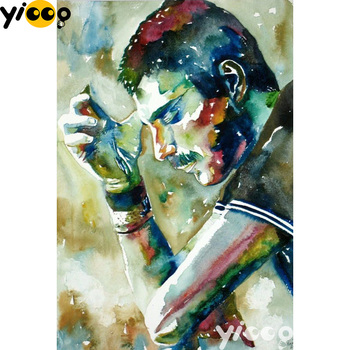 Full Square/Round drill diamond Painting Freddie Mercury 5D DIY embroidery mosaic Decoration painting AX1094