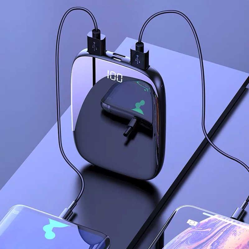 Mi ni Power Bank 20000 mAh cargador rápida batería externa portátil USB tipo C cargador rápido 20000 mAh Powerbank para iPhone Xiaomi mi