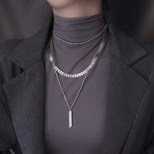 Модное ювелирное ожерелье цепочка лидер продаж трехслойное высококачественное