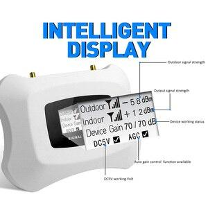 Image 2 - Hot! 4G LTE 800MHz wzmacniacz sygnału komórkowego 4g wzmacniacz telefonu komórkowego 4G wzmacniacz sygnału komórkowego z Yagi + antena sufitowa zestaw