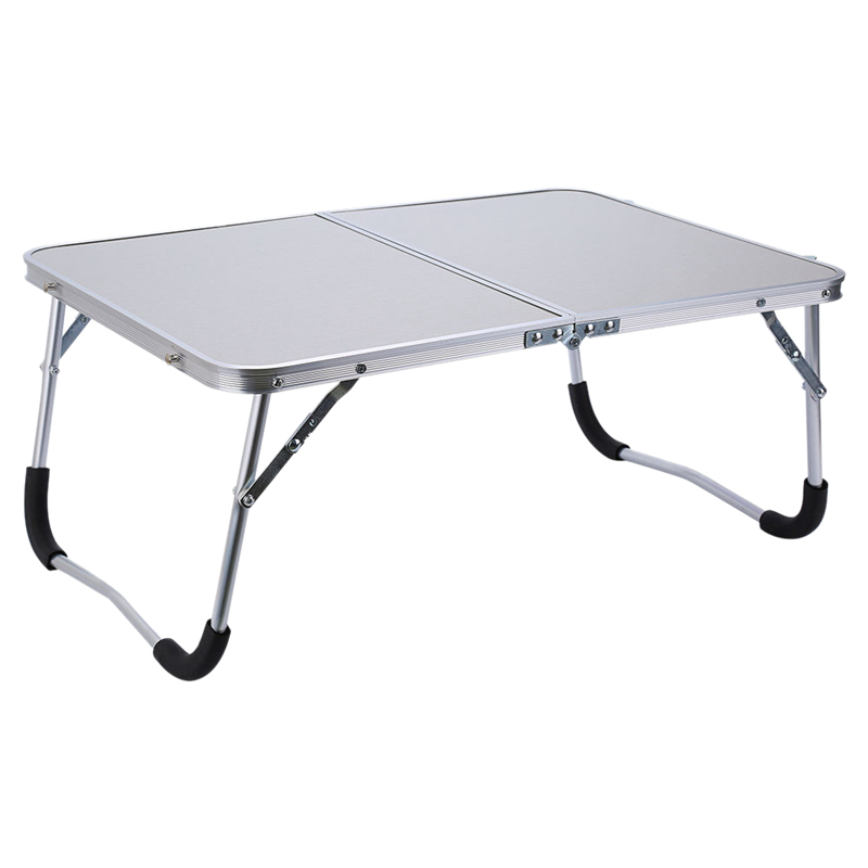 Adjustable Portable Laptop Table Stand Folding Computer Reading Desk Bed Tray, White