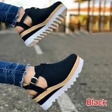 Zapatos de tacón alto, Sandalias de Mujer, zapatos de plataforma plana Vintage para Mujer, Sandalias cómodas de moda para Mujer, Sandalias femeninas para Mujer