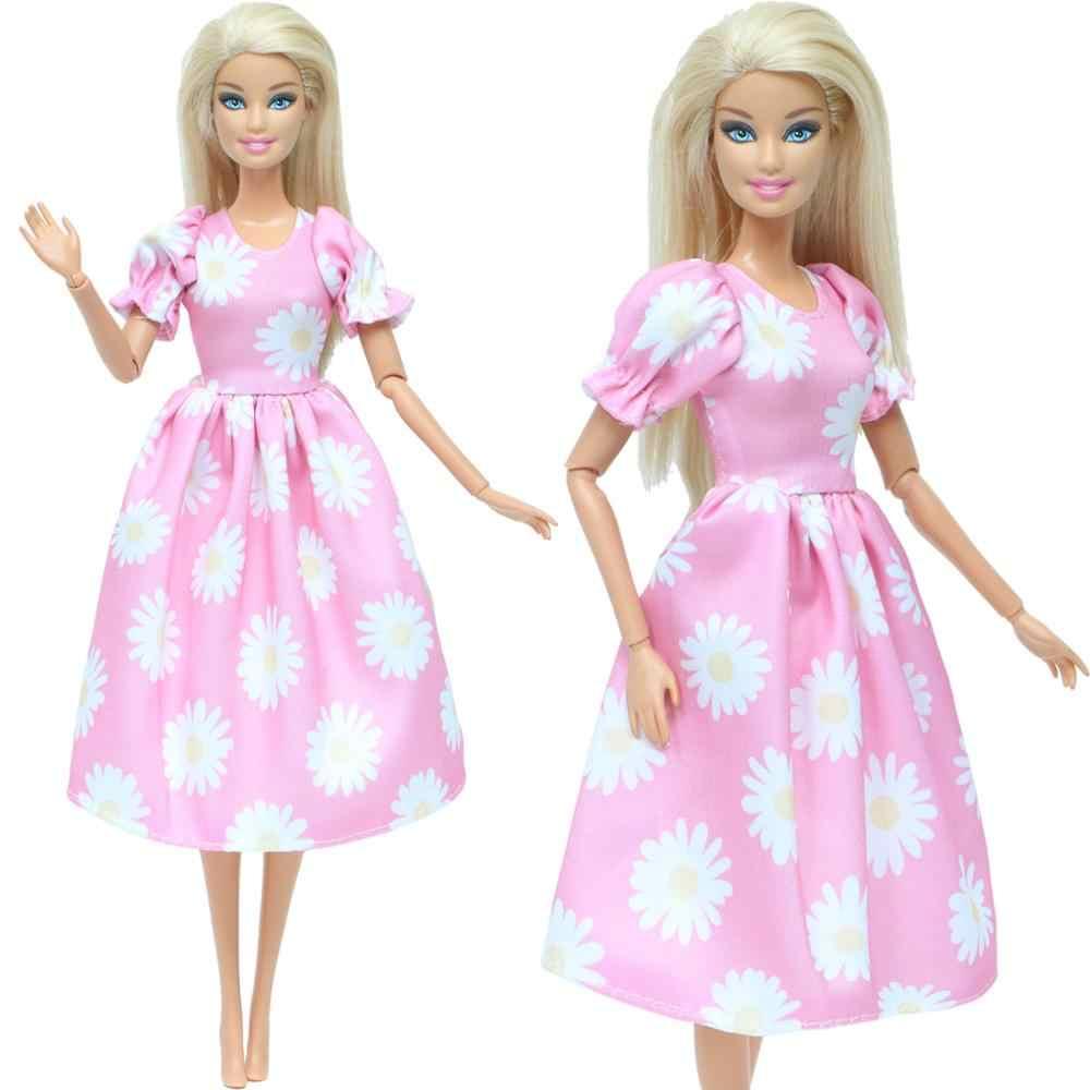 Boneca Barbie Roupa Artesanal Fantasia Casual Calças Moda # Rosa