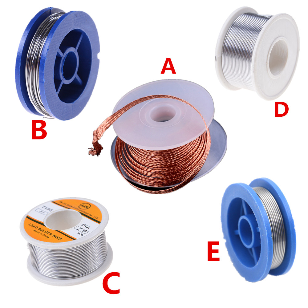 Desoldering Braid Solder Remover Wick Wire Repair Tool Rosin Core Tin Lead 0.7mm 1.5mm 1mm Soldering Welding Iron Wire 3.5mm
