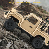 MN 96 1:12 WW2 RC Truck Military Car RSOV Army Soldier Weapon Figures Auto Toys Rock Crawler Radio Control Cars Moving Machine
