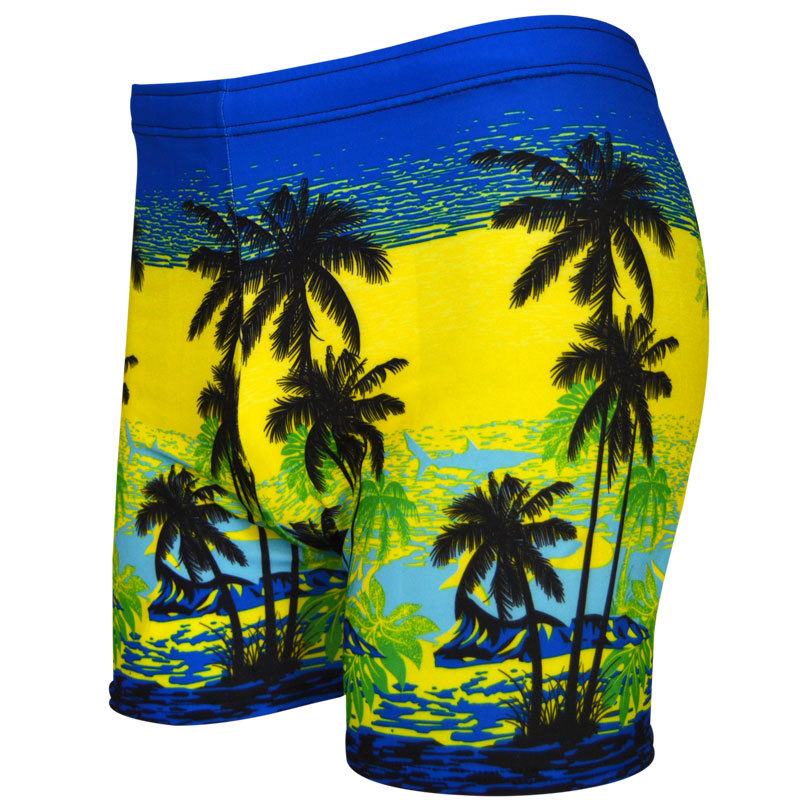 Genuine Product Hot Selling Coconut Figure Printed Plus-sized Swimming Trunks AussieBum 818-2-Top Grade Men's Swimming Trunks