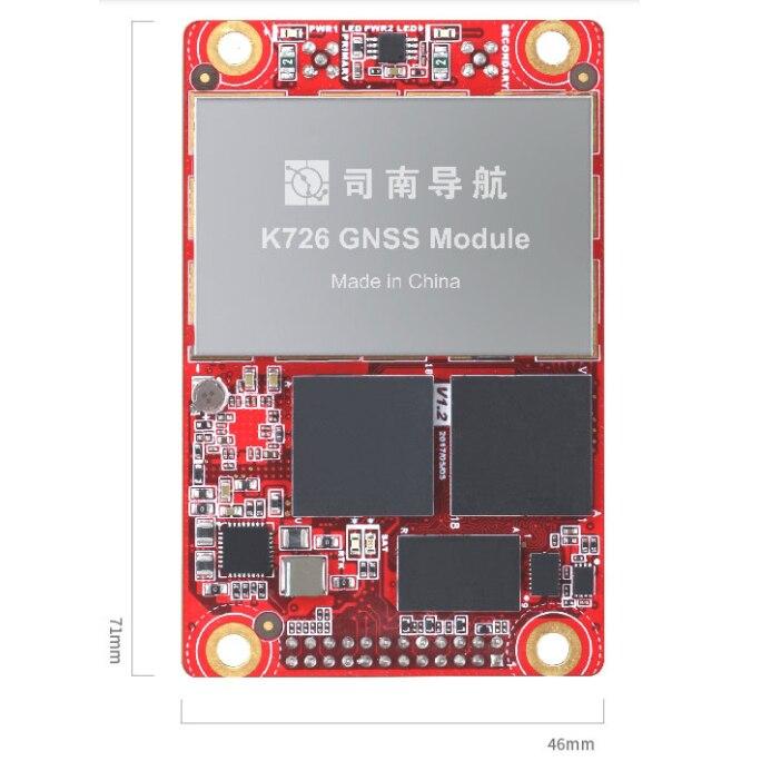 K726 Comnav GPS High Precision RTK OEM Module GNSS Dual Antenna GPS L1/L2 BDs Glonass