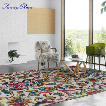SunnyRain 1-piece Area Rug for Living Room Bedroom Rug and Carpet for Kitchen goodgrain large area rug for kitchen bathroom