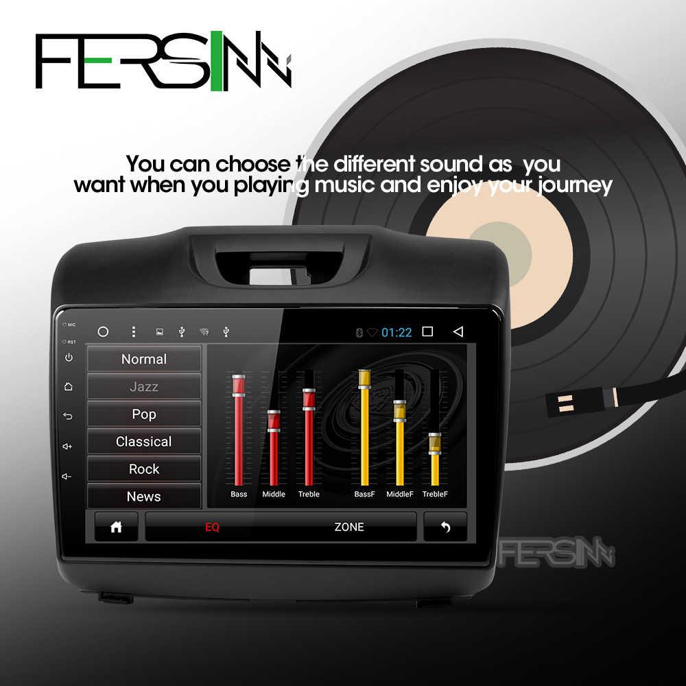 Fersinny アンドロイド 9.0 カー dvd gps プレーヤーのためにシボレー S10 いすゞ D-MAX 2015-2018 カー Dvd プレーヤーラジオビデオプレーヤーナビゲーション GPS