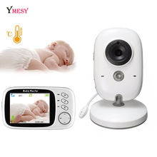 Ymesy Wireless Two-Way Smart Baby Monitor Baby Care System Audible Temperature Monitor Vox