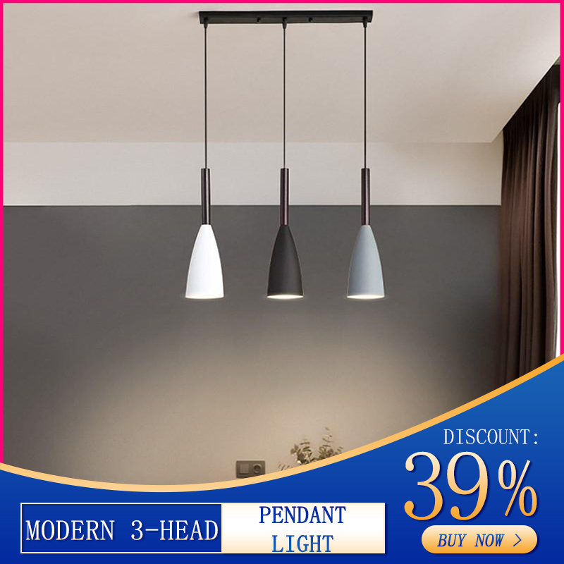 Hanging Lamps Room-Lights Minimalist-Pendant-Lights Kitchen Island Dining-Table Modern