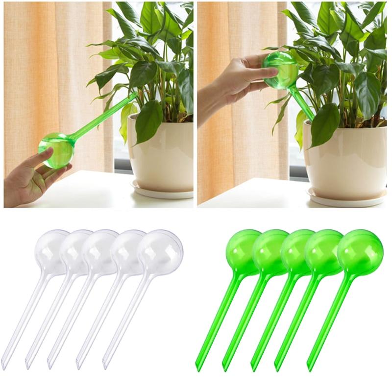 Автоматическая кормушка для воды с самополивом, пластиковая, из ПВХ, в форме шара, для полива растений и цветов