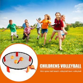 Dzieci minitrawa piłka do siatkówki zabawki Spike gra z piłkami wypoczynek na świeżym powietrzu Sport do ćwiczeń na świeżym powietrzu ozdoby sportowe tanie i dobre opinie CN (pochodzenie) Volleyball Siatkówka plażowa