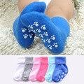 Baumwolle Baby Socken Candy Farbe Anti Slip Baby Mädchen Socken Neugeborenes Baby Socken Für 1-3 Jahre Weichen kinder Boden Socken recien nacido