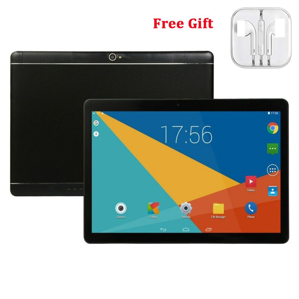10.1 inch Tablet PC Android 8.0 Dual SIM 4 + 64GB Dual Camera GPS Wi-Fi Phablet Tablet Computer