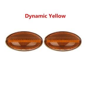 Image 5 - 2x12V lampada ripetitore laterale scorrevole LED dinamico indicatore laterale lampada pannello lampada senza errori per BMW MINI Cooper R50 R52 R53 2002 2008