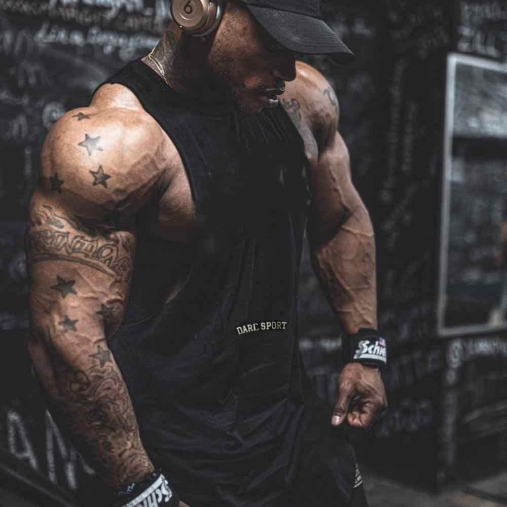 Men/'s Fitness Vest Sport Quick Dry Breathable Tank Tops Bodybuilding Undershirts