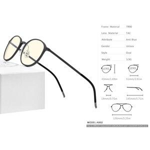 Image 4 - FONEX TR90 Anti mavi ışık gözlük erkekler gözlük gözlük gözlük gözlük Anti mavi oyun bilgisayarı gözlük kadınlar için AB02