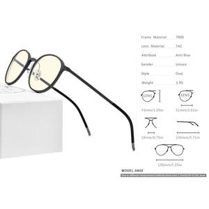 Image 4 - Fonex TR90 Anti Blauw Licht Bril Mannen Goggles Eyewear Brillen Bril Antiblue Gaming Computer Bril Voor Vrouwen AB02