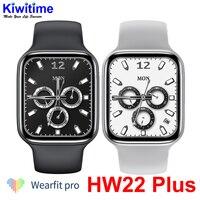 KIWITIME-reloj inteligente IWO HW22 Plus Pro, pulsera con pantalla completa de 1,75 pulgadas, Dial personalizable, Larga modo de reposo, resistente al agua IP67