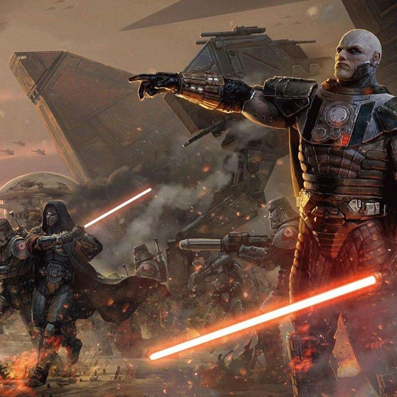 Nouveau 1 pièces Cosplay sabre laser avec son léger sabre alliage Skywalker épée 100 Cm jouet cadeau garçon cadeau d'anniversaire jouets de noël - 3