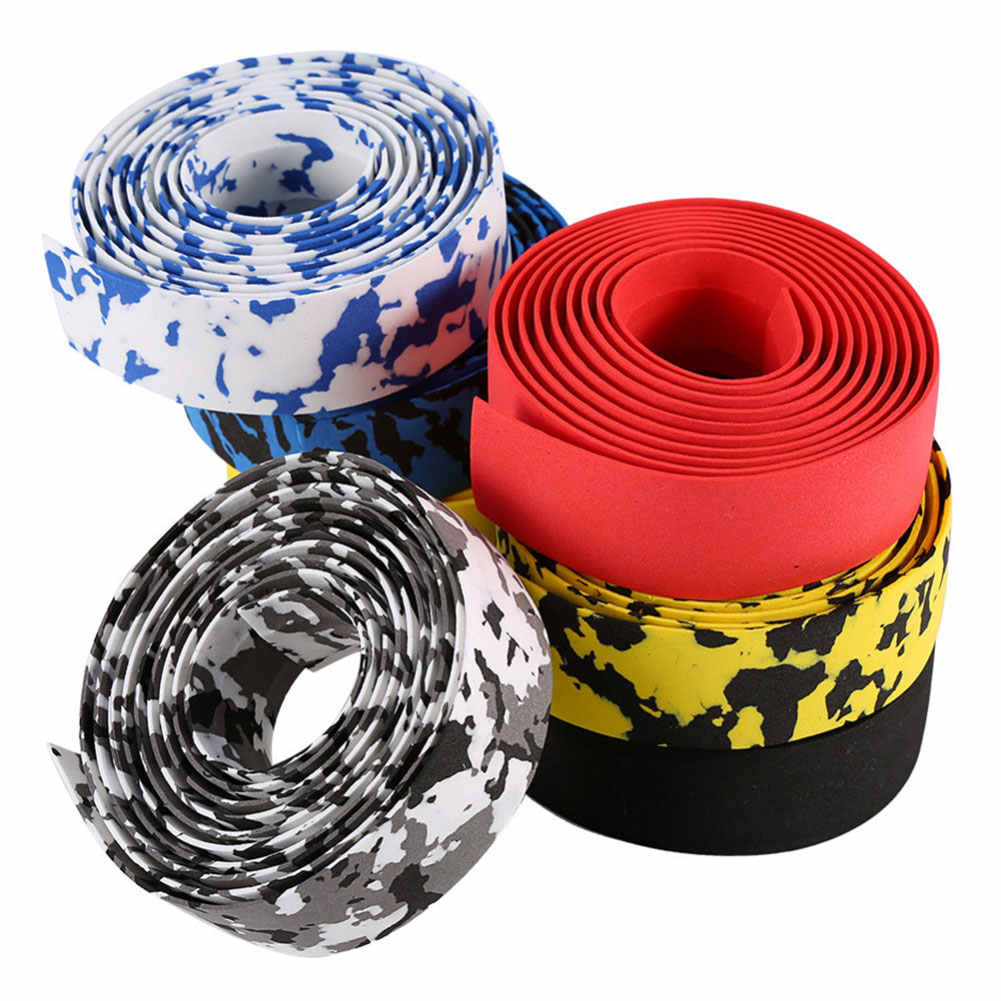 Bicycle Bike Handlebar Wrap Vibration Road Cycling Bar Tape Grip Absorbing Foam